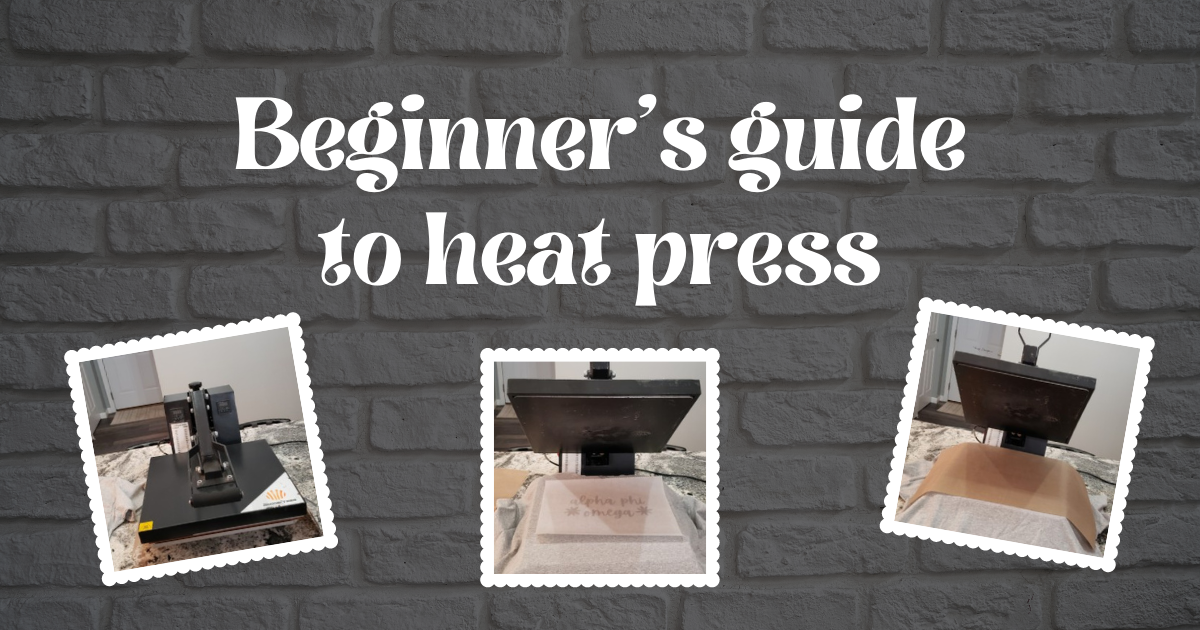 Beginner's Guide To Heat Press main article image