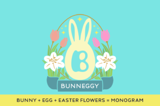 Print on Demand: Bunneggy Decorative Font By Situjuh