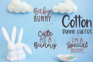 Cotton Bunny Quotes Graphic Crafts By Firefly Designs