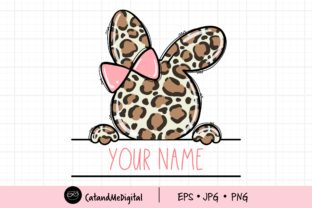 Easter Bunny Girl Clipart Graphic Illustrations By CatAndMe