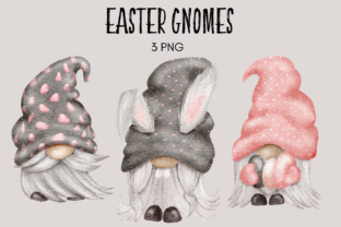 Print on Demand: Easter Gnomes Graphic Illustrations By Celebrately Graphics