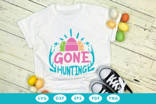 Easter SVG , Gone Hunting Graphic Crafts By CraftlabSVG