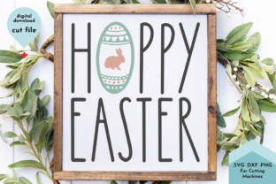 Print on Demand: Happy Easter with Painted Egg, Spring Graphic Crafts By Lettershapes