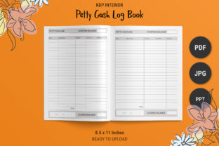 Print on Demand: KDP Petty Cash Logbook Graphic KDP Interiors By The Low Content Bookshelf