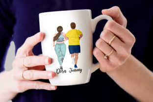 Print on Demand: Runners Clipart Plus Size People Graphic Illustrations By LeCoqDesign 6