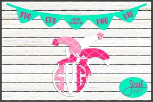 Valentine's Day Jester Monogram with Bow Graphic Crafts By jamidesignco