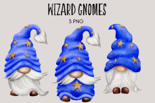 Print on Demand: Wizard Gnomes Graphic Illustrations By Celebrately Graphics