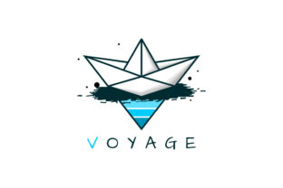 Print on Demand: Paper Ship Voyage Illustration Graphic Illustrations By lexlinx