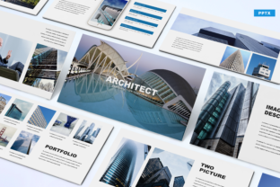 Architect - Powerpoint Template Graphic Presentation Templates By Unicode Studio