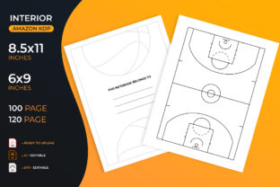 Basketball Coach Playbook - Kdp Interior Graphic KDP Interiors By medelwardi