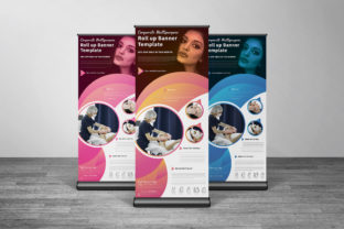 Beauty Center Advertising Roll Up Banner Graphic Print Templates By muhammadimu2322