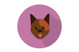 Cute Dog Sticking out Its Tongue Graphic Illustrations By harunikaart