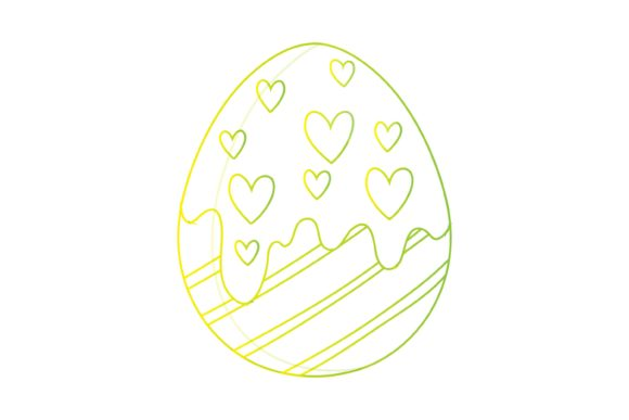Easter Day Fun Beautiful Line Graphic Illustrations By garnetastudio