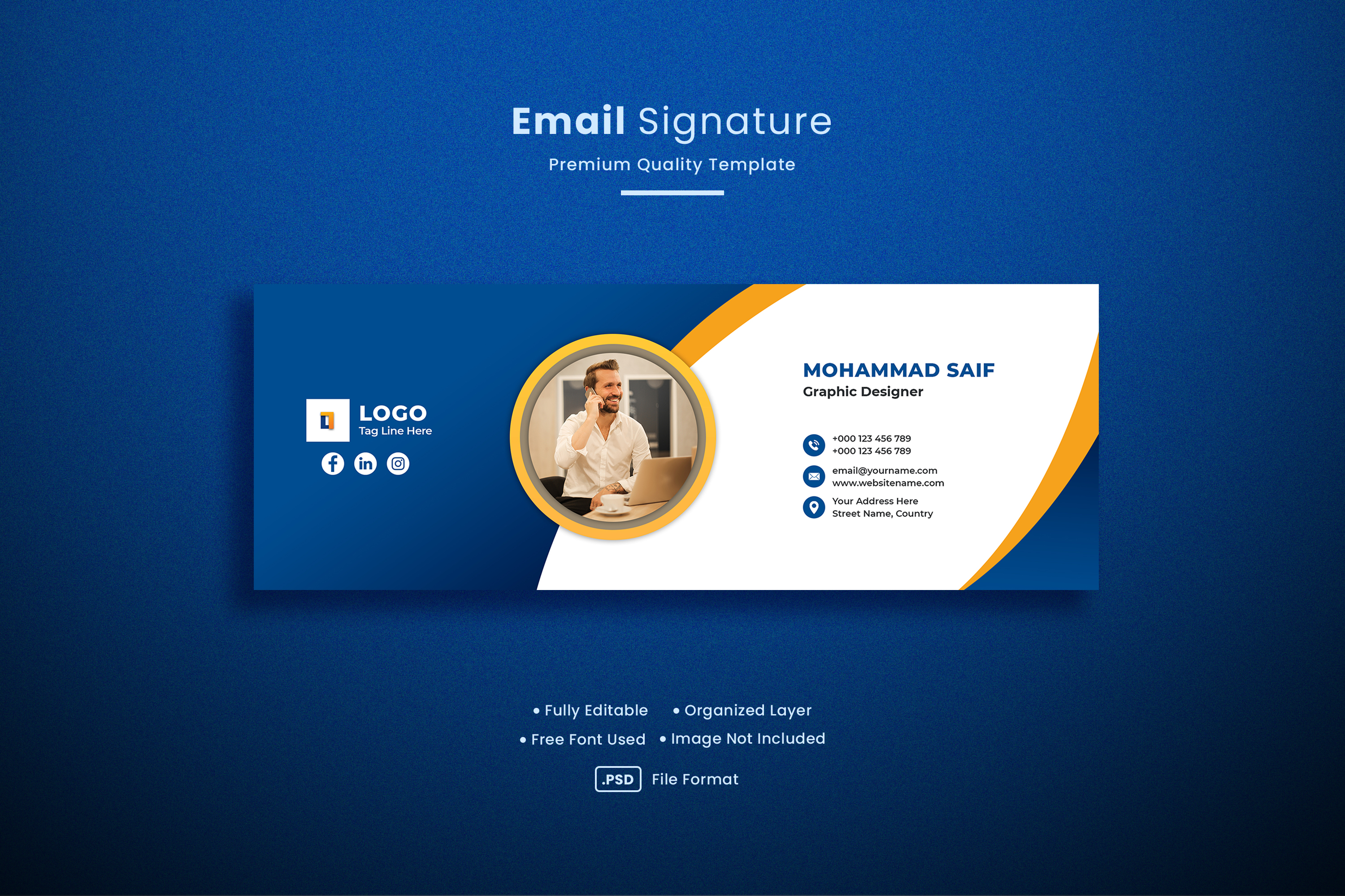Email Signature Template for Business