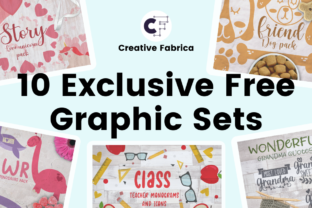 Exclusive offer: 10 Graphic Sets For Free