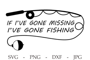 Print on Demand: Fishing Svg - Fathers Day Svg - Camping Graphic Print Templates By CuteShopClipArt