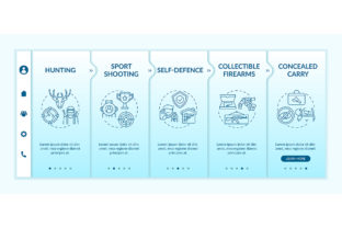 Print on Demand: Gun Ownership for Civilian Web Pages Graphic Graphic Templates By bsd studio