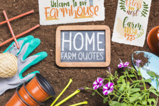 Home Farm Quotes Graphic Crafts By Firefly Designs