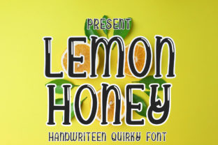 Print on Demand: Lemon Honey Display Font By edwar.sp111