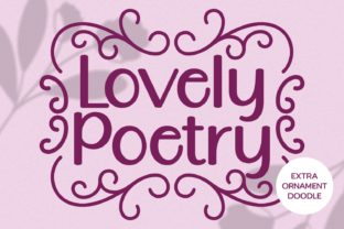Print on Demand: Lovely Poetry Script & Handwritten Font By Keithzo (7NTypes)