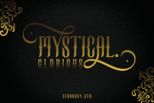 Print on Demand: Mystical Glorious Blackletter Font By 3Foundrystd