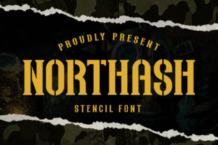Print on Demand: Northas Display Font By Arterfak Project