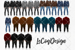 Print on Demand: Plus Size Man Male Clipart Graphic Illustrations By LeCoqDesign 2