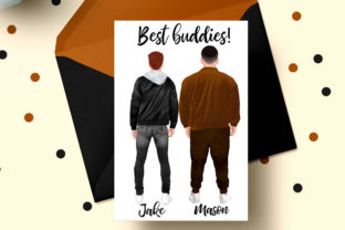 Print on Demand: Plus Size Man Male Clipart Graphic Illustrations By LeCoqDesign 5