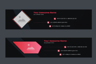 Professional Email Signature Template Graphic Web Templates By muhammadimu2322