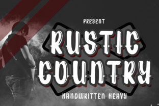 Print on Demand: Rustic Country Display Font By edwar.sp111