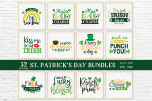 St Patrick's Day Svg Bundle Eps Png Dxf Graphic Crafts By peachycottoncandy