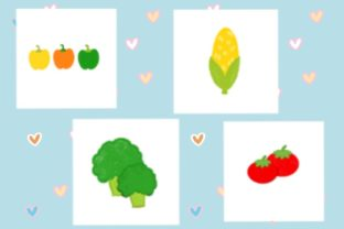 Print on Demand: Veggie Lovers Graphic Print Templates By neve00