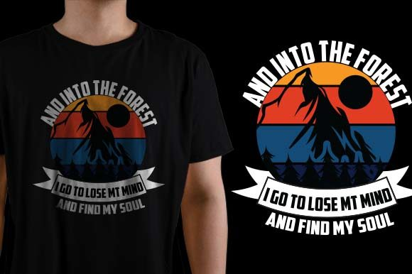 And Find My Soul I Go to Lose My Mind Graphic Graphic Templates By HASSHOO