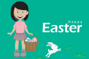 Easter Character Graphic Illustrations By Extumus