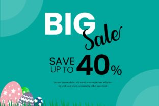 Easter Sale Graphic Template Graphic Graphic Templates By Extumus