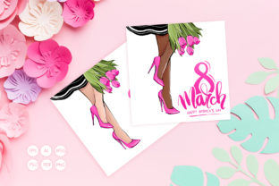 Happy Women's Day, 8 March Greeting Card Graphic Illustrations By yana26789