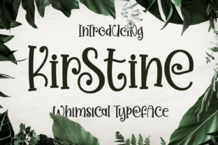 Print on Demand: Kirstine Script & Handwritten Font By Dani (7NTypes)