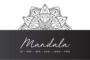 Mandala Adults Coloring Page Graphic Coloring Pages & Books Adults By alihriday
