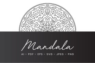 Mandala Coloring Page for Adults Graphic Coloring Pages & Books Adults By alihriday