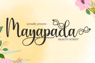 Print on Demand: Mayapada Script & Handwritten Font By Supersemar Letter