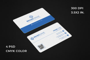Simple Business Card 4 Color Variation Graphic Print Templates By graphs_art