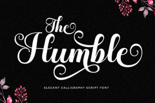 Print on Demand: The Humble Manuscrita Fuente Por LetterFreshStudio