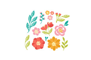Floral Cuttings Designs & Drawings Craft Cut File By Creative Fabrica Crafts