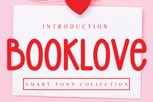Print on Demand: Booklove Display Font By Roronoa zoro.S.P.D