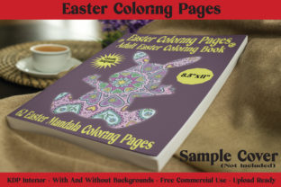 Print on Demand: Easter Coloring Pages - 62 Pages for KDP Grafik KPD Innenseiten von McLaughlin Mall
