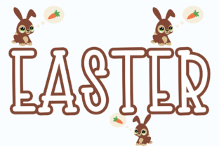 Print on Demand: Easter Display Font By Roronoa zoro.S.P.D