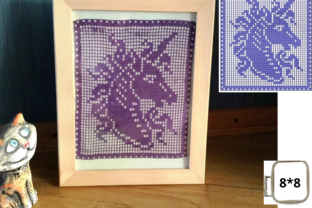 FSL Unicorn Doily Fairy Tales Embroidery Design By EmbDesigns