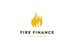Fire Finance Logo Design Graphic Logos By sabbirahmed012