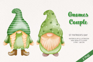 Gnomes Couple Clipart Graphic Illustrations By Apixsala