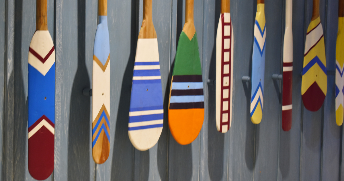 How To Paint A Canoe Paddle